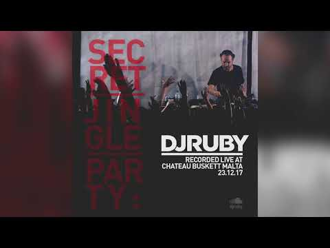 DJ Ruby Live at Secret Jingle Party, Chateau Buskett, Malta 23-12-17