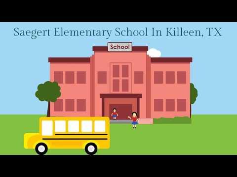 Saegert Elementary School In Killeen, TX
