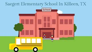 Saegert Elementary School In Killeen, TX