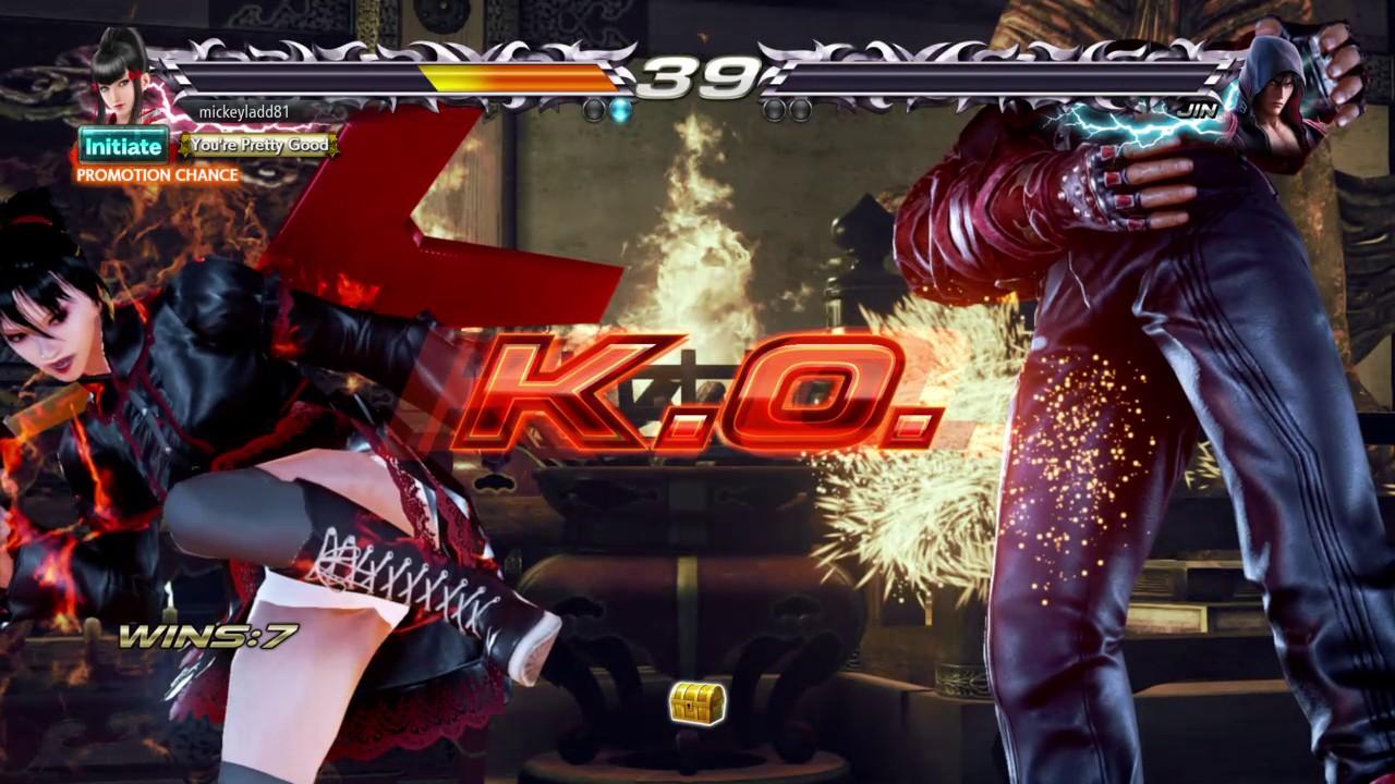 TEKKEN 7 Kazumi Vs Jin Treasure battle (Special Match)