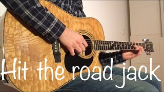Hit The Road Jack - Ray Charles (Acoustic Guitar & Loop Cover)