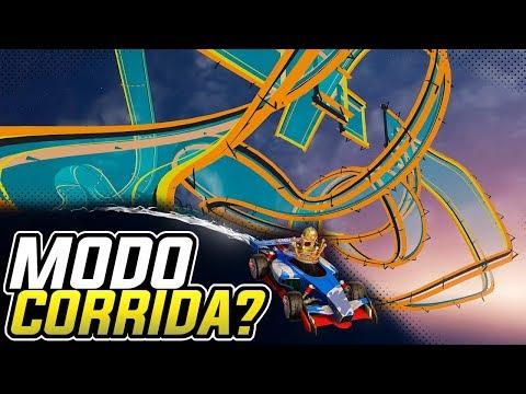 MODO CORRIDA NO RL?!! c/ Firewall, Porto e Nero - Rocket League