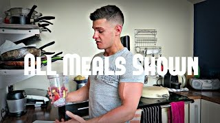 Full Day Of Eating - Protein Oats, Live BodyPower Updates, House Tour