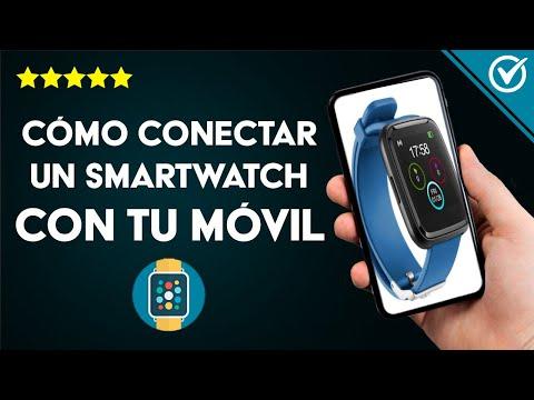 Cómo Conectar o Sincronizar un Smartwatch con un Móvil Android o iPhone