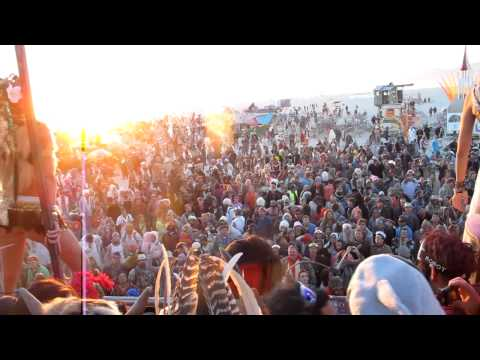 Magical Burning Man 2012 sunrise-footage with Lee Burridge @ Robot Heart (where else??)