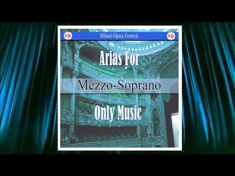 Arias for Mezzo-Soprano. Only Music