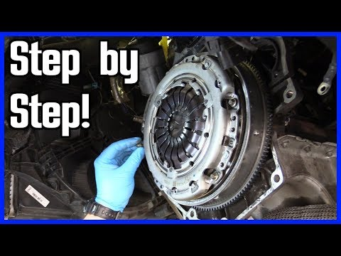 How to Replace a Clutch and Throw Out Bearing Front Wheel Drive Vehicle | Step by Step!