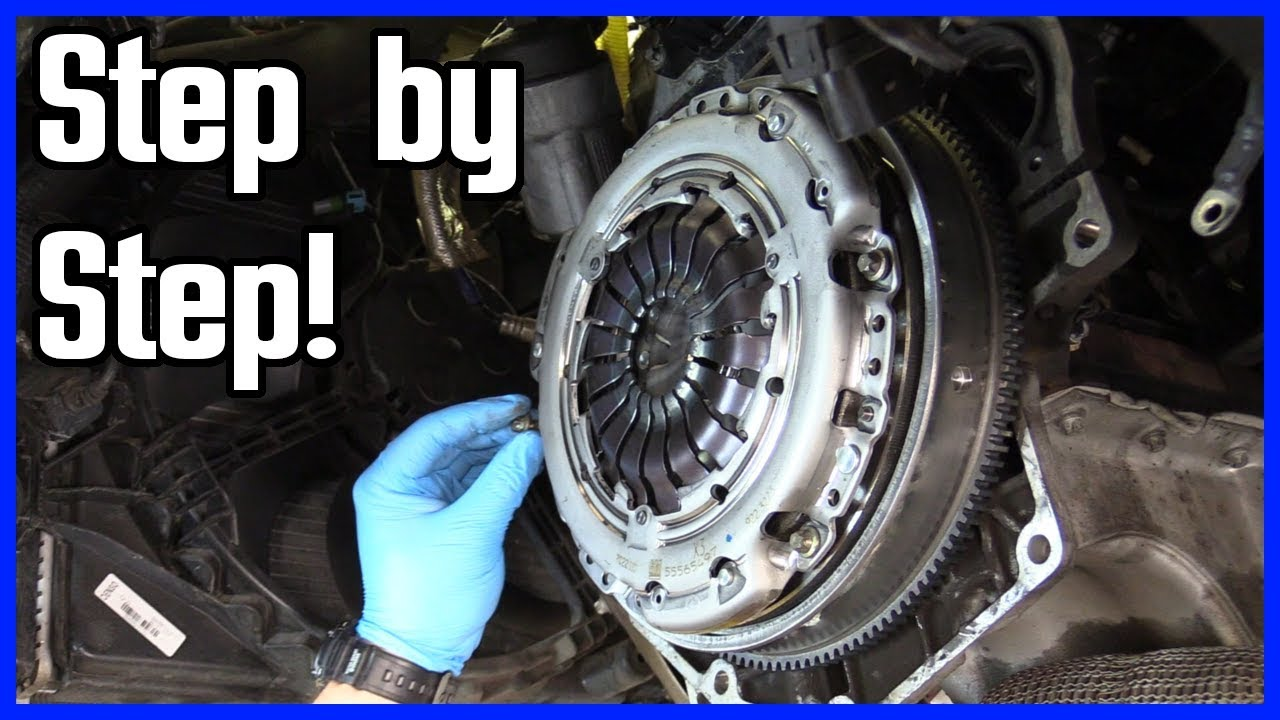 How to Replace a Clutch and Throw Out Bearing Front Wheel Drive Vehicle    Step by Step!