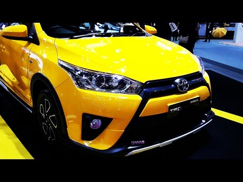 Toyota Yaris TRD Sportivo Yellow สีเหลืองลิมิเต็ด
