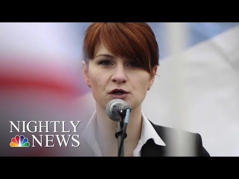 Russian Operative Maria Butina Pleads Guilty To Conspiracy | NBC Nightly News