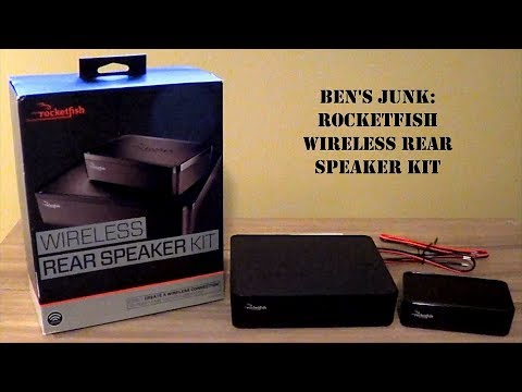 Oddity Archive: Episode 152.5 – Ben's Junk: Rocketfish Wireless Rear Speaker Kit
