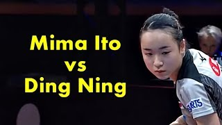 Swedish Open 2018 Mima Ito vs Ding Ning【Best Selections】