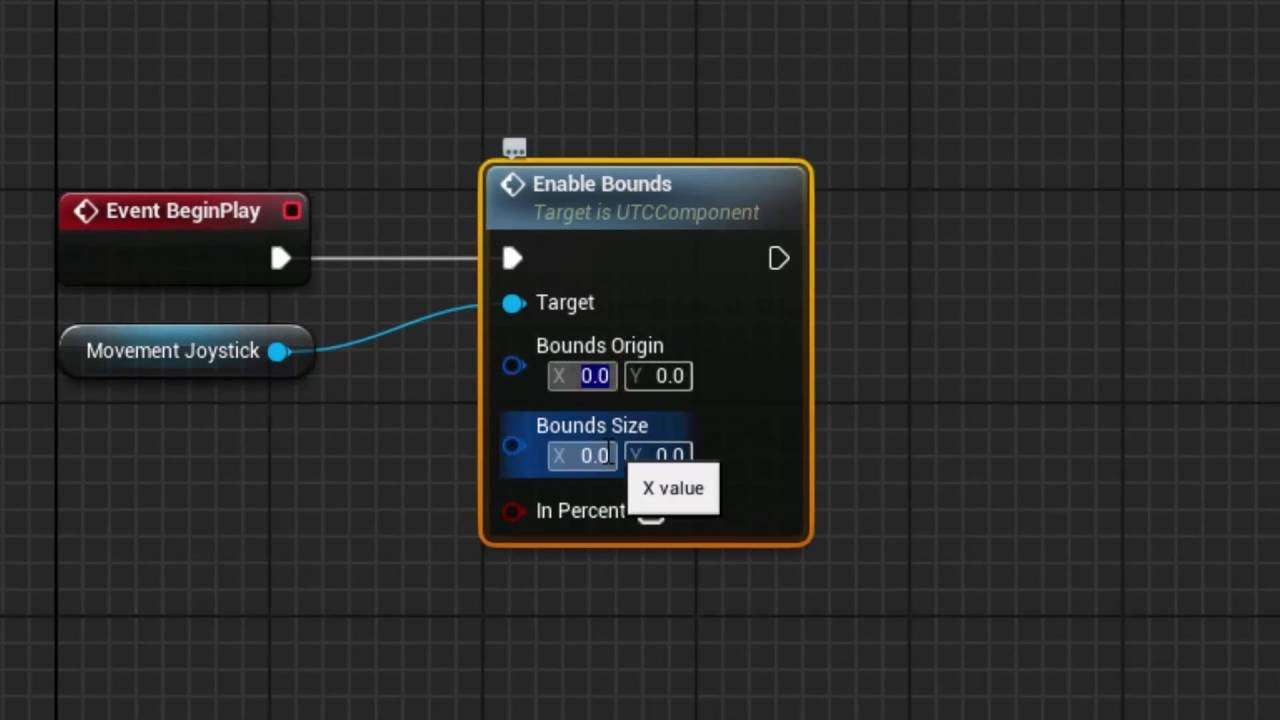 [UE4 Marketplace] Ultimate Touch Components Tutorial - TP character  controls from scratch