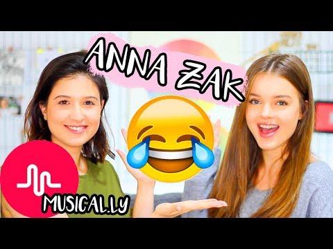 אנה זק מלמדת אותי לעשות מיוזיקלי!! אתגר המיוזיקלי הכי מצחיק אבר!!!