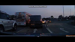 Fail to stop collision caught on UK Dashcam (minor bump)