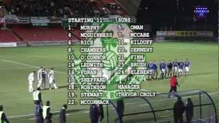 Linfield v Shamrock Rovers 11/3/13