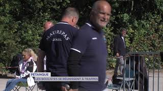 Pétanque : Les boulistes se réunissent à Trappes