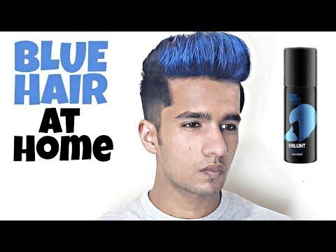 Blue Hair Colour Bblunt Spray