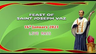 Mass of the Feast of St Joseph Vaz