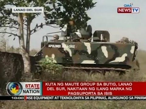 SONA: Kuta ng Maute Group sa Butig, Lanao del Sur, nakitaan ng ilang marka ng pagsuporta sa ISIS