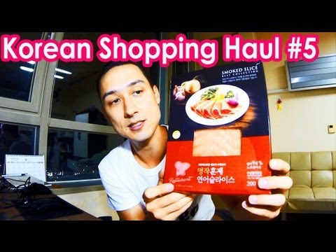 Korean Shopping Haul #5 - Home Plus