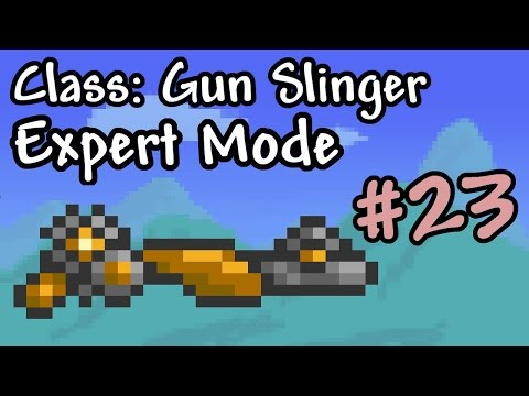 Expert Mode Terraria || Gun Slinger: Clockwork || Episode 23