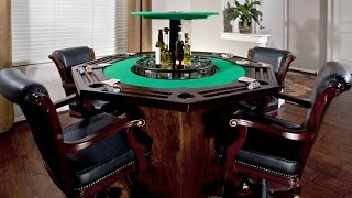 This Is The Coolest Card Table Ever!