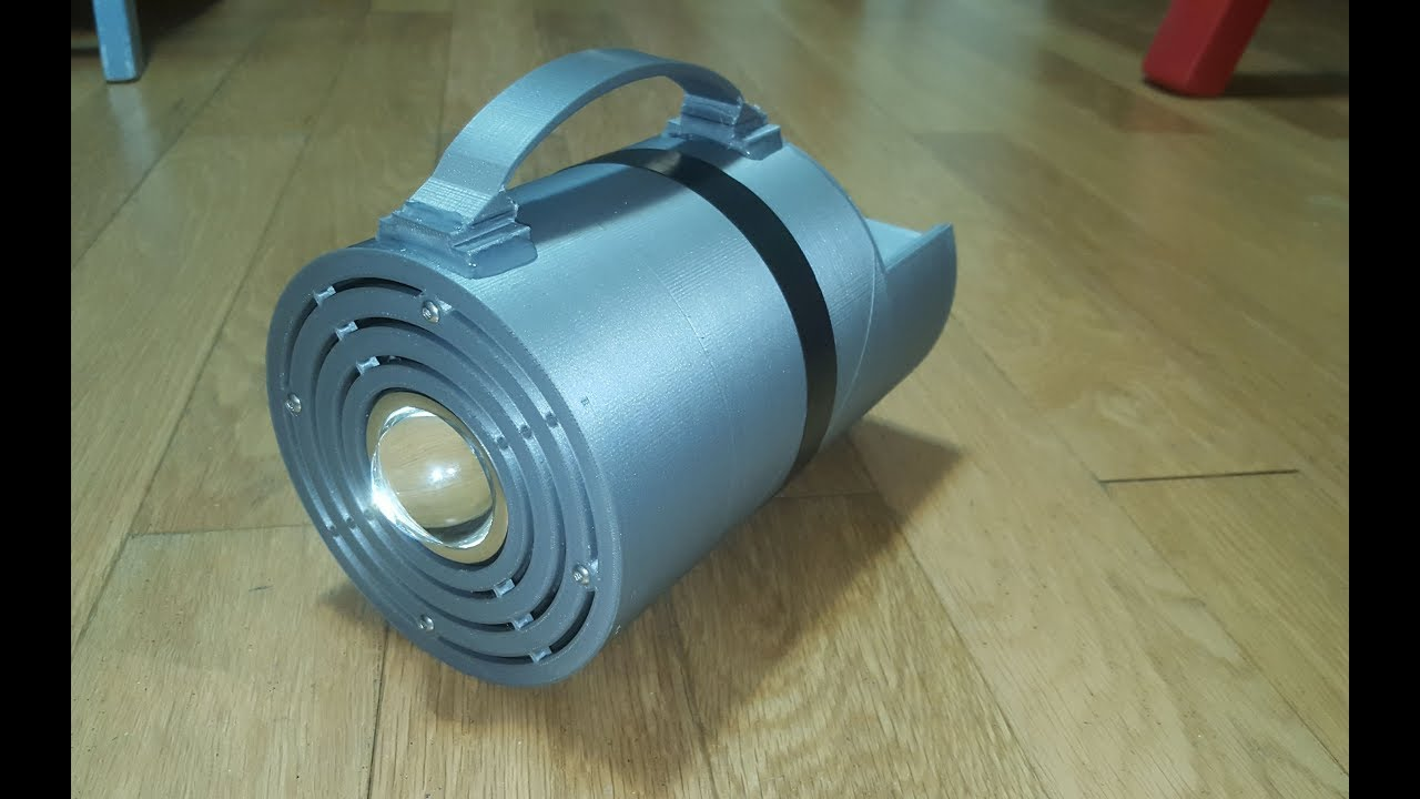 DIY 100W LED High Power Flashlight