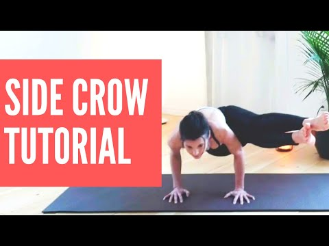 Side Crow Pose Tutorial (Parsva Bakasana) step by step