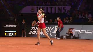 Match Highlights 25 April - Porsche Tennis Grand Prix 2018