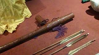 Kyudo Japanese Archery Arrow Quiver Yazutsu