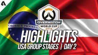 Brazil vs Austria | Overwatch World Cup 2018 Los Angeles Qualifier Day 2