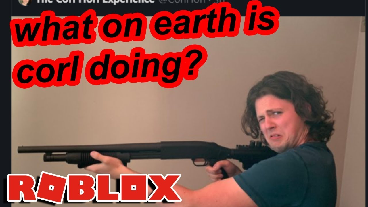 Video - Roblox youtuber corl scared everyone by returning