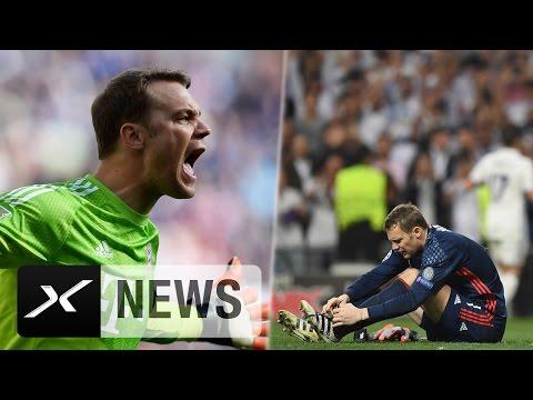 Fußbruch! Manuel Neuer droht das Saisonaus | Real Madrid - FC Bayern München 4:2