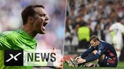 Fußbruch! Manuel Neuer droht das Saisonaus   Real Madrid - FC Bayern München 4:2
