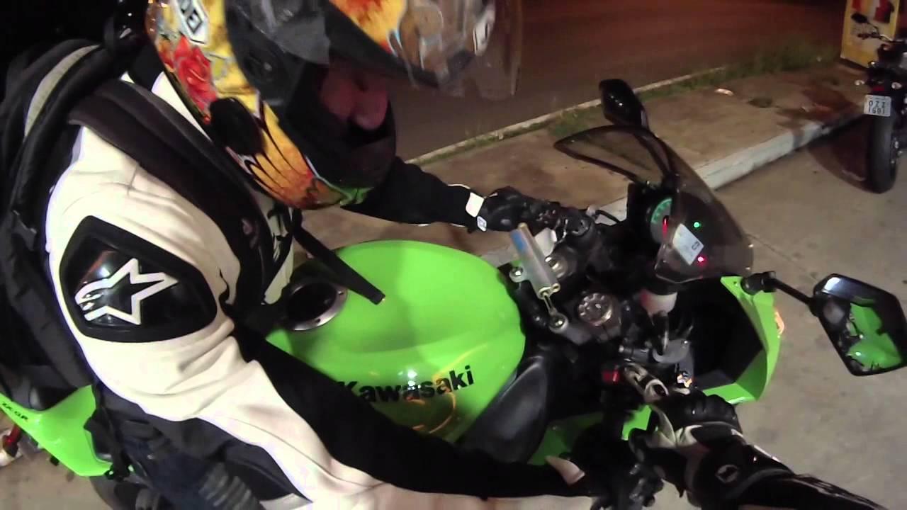 As aventuras de Chimbinha - Yamaha MT09 e Kawasaki ZX6R