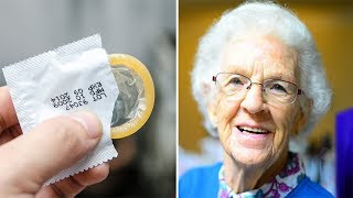 81 Year Old Lady Wants To Buy A 12-pack Of Condoms – The Cashier Faints When She Reveals Why