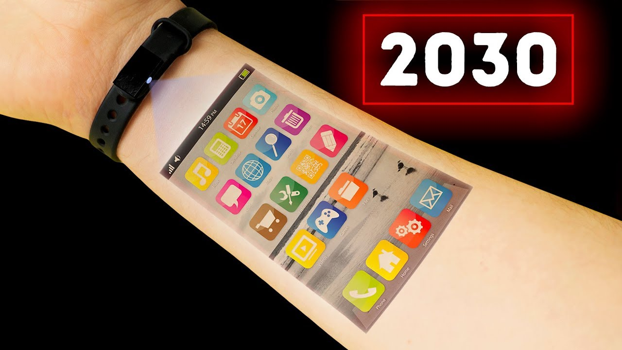 Smartphone in 2030 | Future Technology Mobile Phones