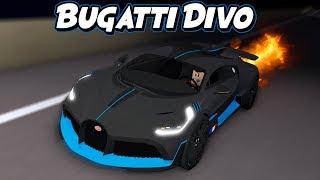 Eu comprei o carro mais caro em ULTIMATE DRIVING! * Bugatti Divo * (Roblox)