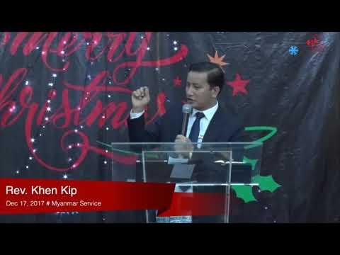 Rev. Khen Kip on December 17, 2017 (M)