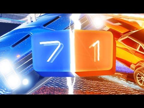 AMAZING BRAZIL GAME MODE - Rocket League Part 72 - Capitalizers vs Team Rocket