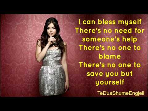 Lucy Hale  Bless Myself  Lyrics