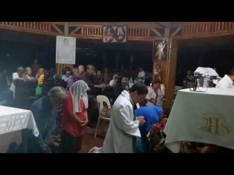 Apparition of Mama Mary to Juan Antonio Gil at Our Lady of Catigan Chapel  January 28, 2017