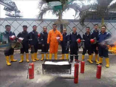 Oilfield Crew Management -Basic Fire Fighting Training Jakarta-Transafe Indonesia