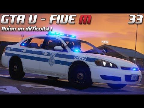 Law Enforcement - Patrouille #33 - Avion en difficulté !