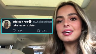 Addison Rae Wants To Go On A Date! | Hollywire
