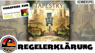 Tapestry Regeln Neuheit Spiel 2019