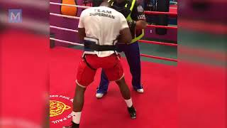 Adonis Stevenson Boxing Training Highlights  Muscle Madness