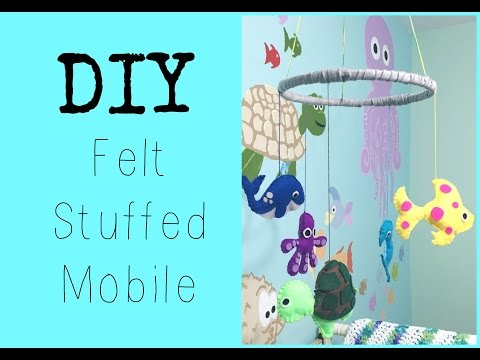 DIY: Felt Mobile ♡ {Nursery Series } ♡ Jessica Joaquin