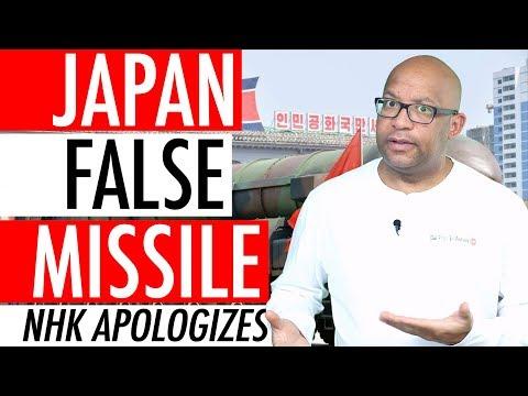 Japan False Missile Alert – Japanese Broadcaster NHK Apologizes For North Korean Missile Alert 🚀